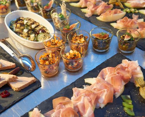 fingerfood und appetithäppchen buffet